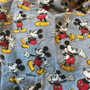 Old School Mickey Mouse twin fitted sheet